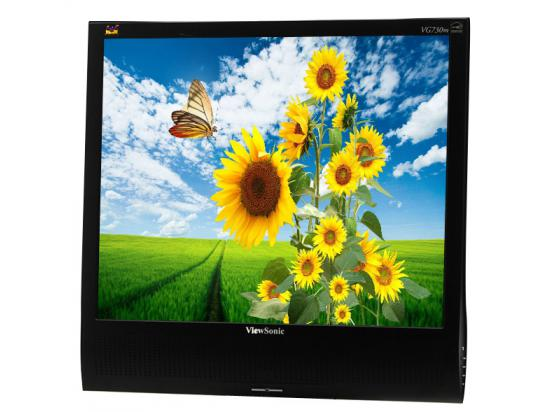 "Viewsonic VG730m 17"" LCD Monitor - Grade B - No Stand"