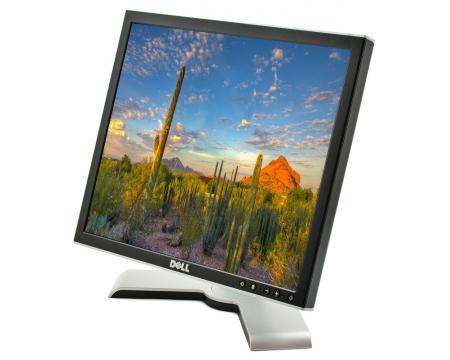 """Dell 1708FP 17"""" LCD Monitor  - Grade A - Silver/Black"""