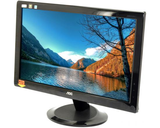 """AOC 2036S 20"""" Widescreen Black LCD Monitor - Grade A"""