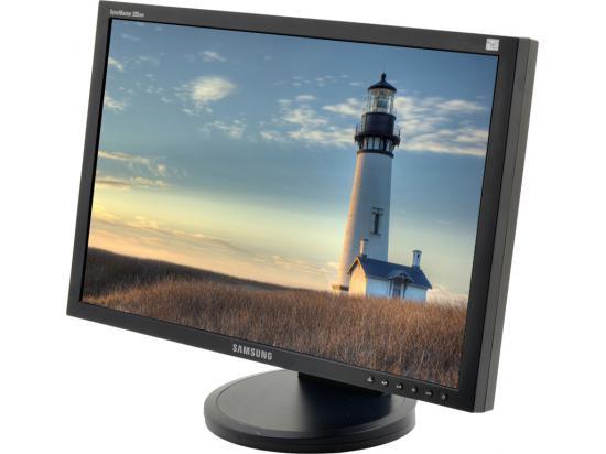 "Samsung 205BW SyncMaster 20"" Widescreen LCD Monitor - Grade A"