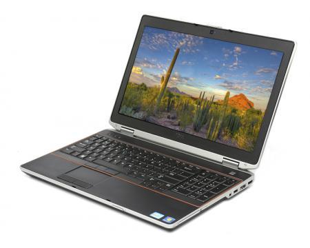 """Dell Latitude E6520 15.6"""" Laptop Intel Core i7 (2640M) 2.8GHz 4GB DDR3 320GB HDD - Grade A"""