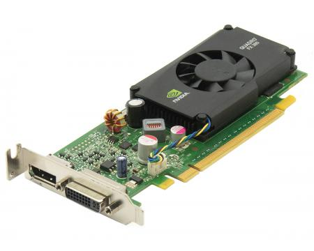 Nvidia Quadro FX 380 LP 512MB DDR3 Graphics Card - Low Profile