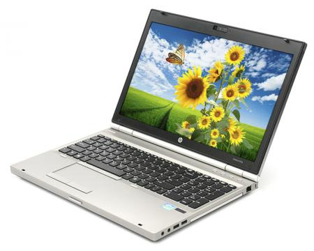 "HP Elitebook 8570p 15.6"" Laptop Intel Core i7 (3740QM) 2.7GHz 4GB DDR3 320GB HDD - Grade A"