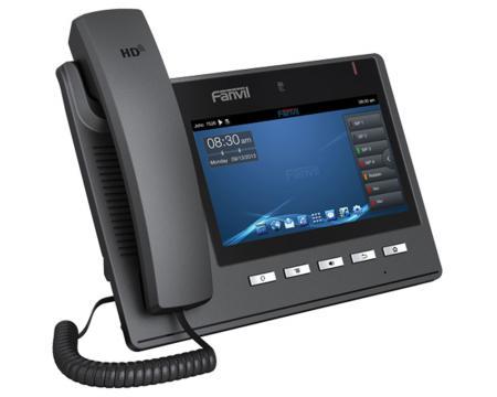 Fanvil C600 Black Gigabit IP Color Display Video Phone
