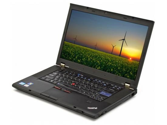 "Lenovo Thinkpad T520 15.6"" Laptop Intel Core i5 (2520M) 2.5GHz 4GB DDR3 320GB HDD - Grade B"