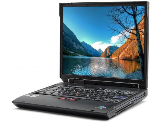 "IBM A30 2652 14.1"" Laptop Pentium 3 1.0GHz 4GB DDR2 128GB SSD - Grade A"