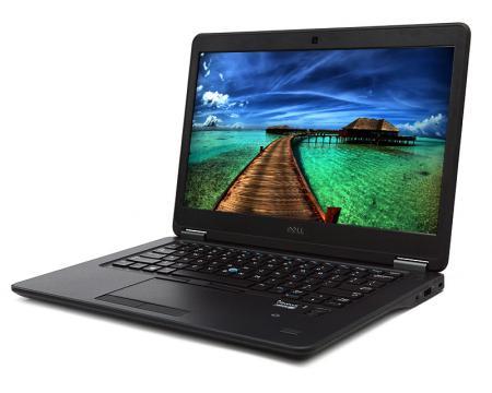 """Dell Latitude E7450 14"""" Laptop Intel Core i5 (5300U) 2.3GHz 4GB DDR3 320GB HDD - Grade A"""