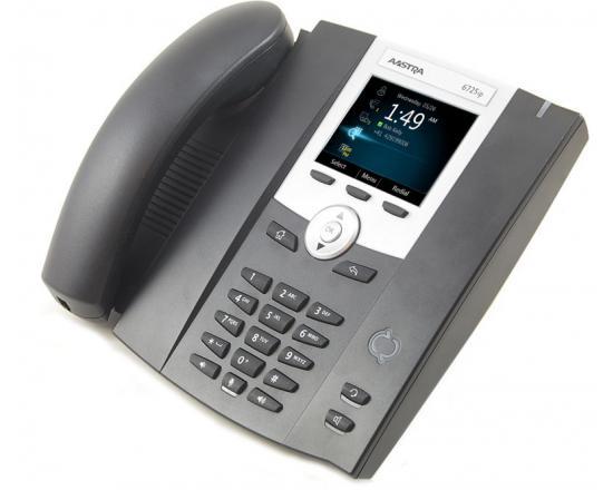 Aastra 6725ip Black IP Color Display SpeakerPhone - Grade A