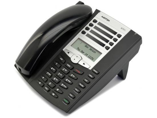 Aastra 6731i Black IP Display SpeakerPhone w/ Text Keys - Grade B
