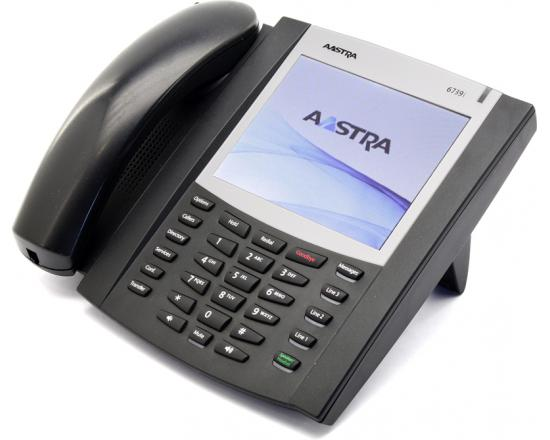 Aastra 6739i Black IP Large Touchscreen Display SpeakerPhone - Grade A
