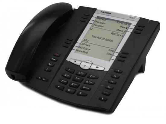 Aastra 6757i Black IP Display Speakerphone w/ Icon Keys - Grade B