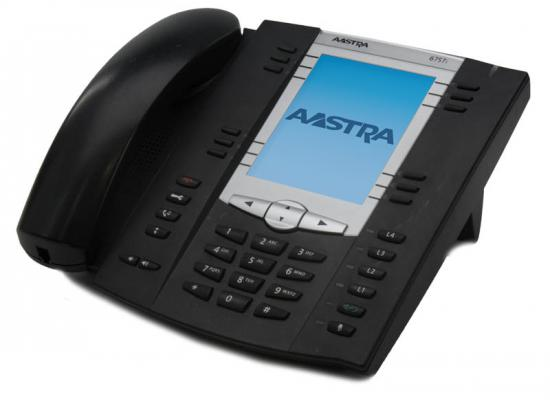 Aastra 6757i VoIP Large Backlit Display Phone (57i) w/ ICON Keys (A1757-0131-10-55)