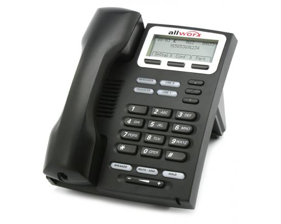 AllWorx 9202E Black IP Display Speakerphone - Grade A