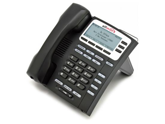 AllWorx 9204G Black Gigabit IP Display Speakerphone - Grade A