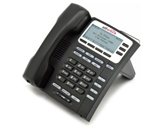 AllWorx 9204G Black Gigabit IP Display Speakerphone - Grade B