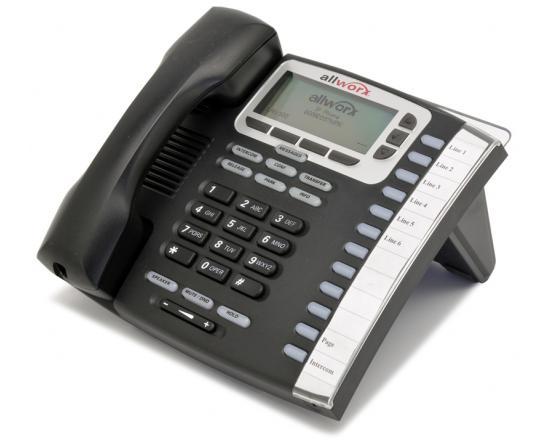AllWorx 9212L 12-Button Black IP Display Speakerphone - Refurbished