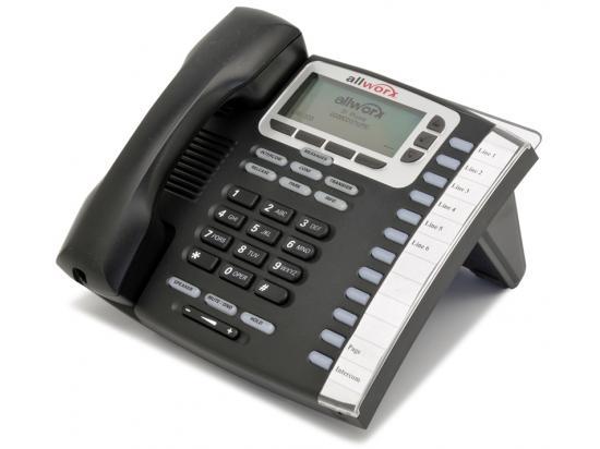 AllWorx  9212L 12-Button Black IP Display Speakerphone