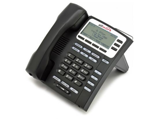 Allworx Paetec 9204G-P Black Gigabit IP Display Speakerphone - Grade A