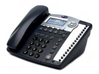 AT&T 984 16-Button Black Analog Display Speakerphone - Grade A