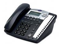 AT&T 984 16-Button Black Analog Display Speakerphone - Grade B