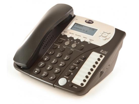 AT&T 992 Black Analog Display Speakerphone - Grade A