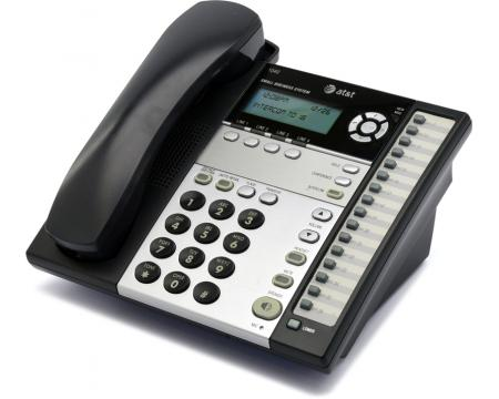 AT&T 1040 16-Button Black Digital Display Speakerphone - Grade A