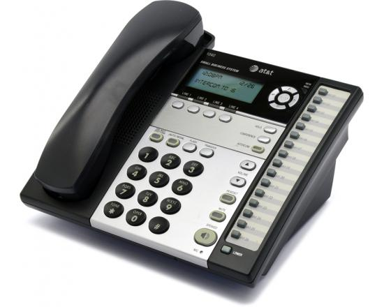 AT&T 1040 16-Button Black Digital Display Speakerphone - Grade B