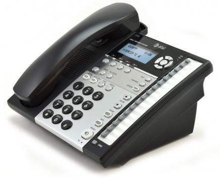 AT&T 1070 16-Button Black Analog Display Speakerphone
