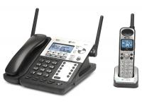 """AT&T SB67138 SynJ 4-Line Corded/Cordless Phone System """"Grade B"""""""