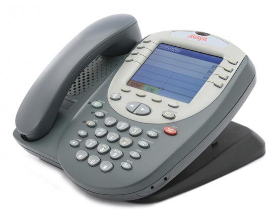 Avaya 2420 24-Button Black Digital Display Speakerphone - Grade A