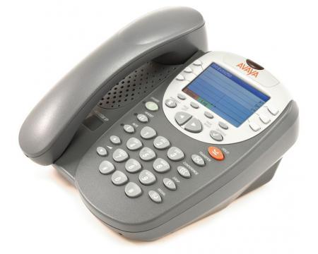 Avaya 4610SW 24-Button Black IP Display Speakerphone - Grade A