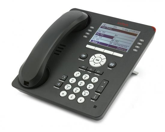 Avaya 9608 24-Button Black IP Display Speakerphone W/Text Keys - Grade A