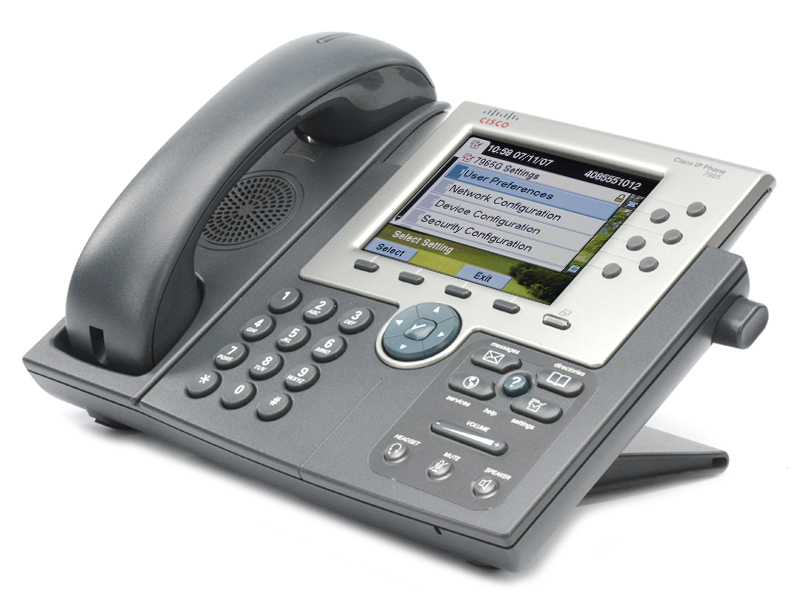 Cisco CP-7975G IP Phone w// Gigabit Switch /& Color Display /& CP-7916 Expansion
