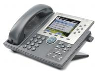 Cisco Unified 7965G Charcoal Gigabit IP Display Speakerphone - Grade A