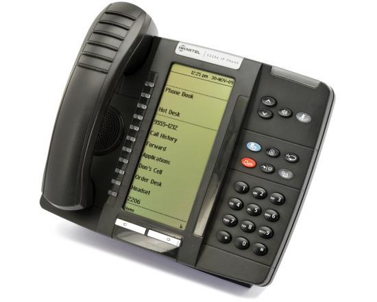 Mitel 5320e IP Dual Mode Large Display Gigabit Phone (50006474) - Grade A