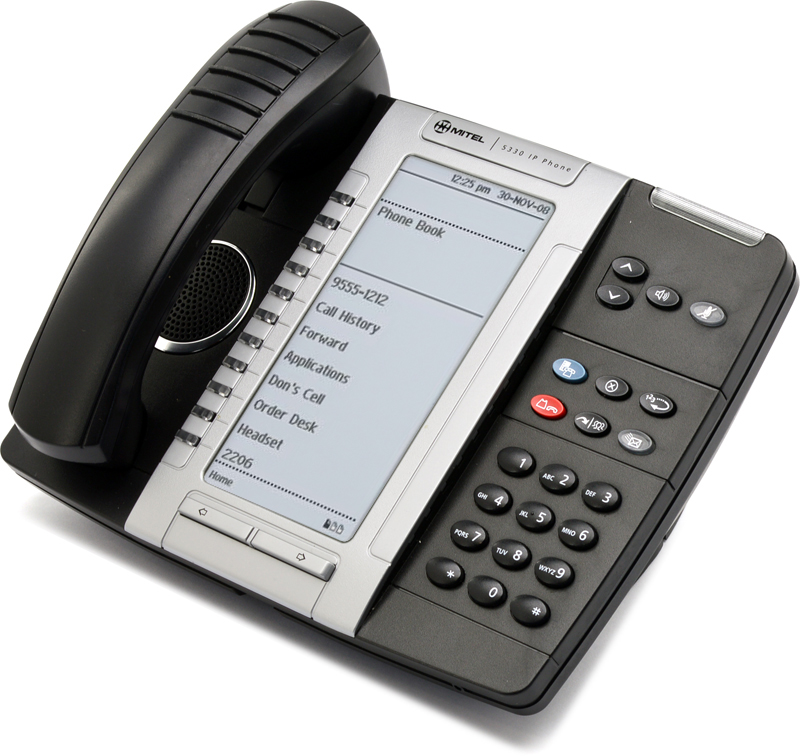 Mitel NEW 5330 IP5330 VoIP Phone Dual Mode 50005804 Black Back Lit Warranty