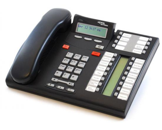 Nortel Norstar T7316E Charcoal Enhanced Phone (NT8B27) NT8B27JAAA