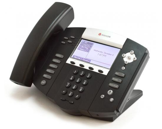 Polycom SoundPoint IP 550 PoE Backlit Display Phone 2201-12550-001