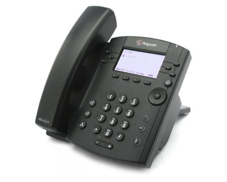 Polycom VVX 300 2200-46135-025 IP Display Speakerphone - Grade A