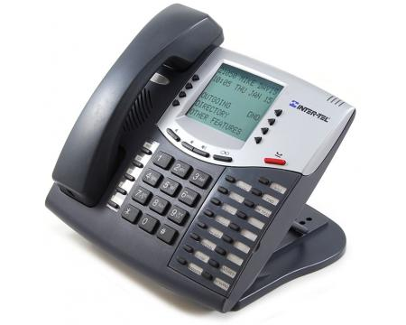 Inter-tel Axxess 550.8560 Large Display Charcoal Phone