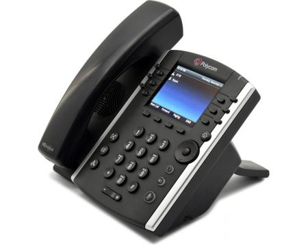 Polycom VVX 400 IP Phone (2200-46157-025, 2201-46104-001)