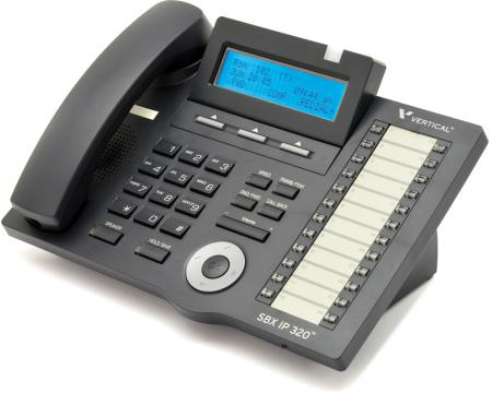 """Vertical SBX IP 320 4024-00 24 Button Digital Phone """"Grade B"""""""