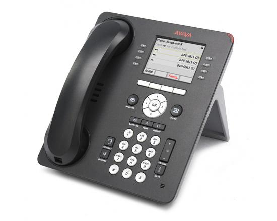 Avaya 9611G 24-Button Black  VOIP Display Speakerphone W/ Text Keys - Grade A