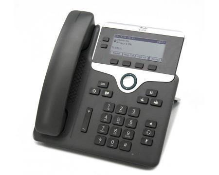 Cisco CP-7821 Charcoal Gigabit IP Display Speakerphone - Grade A