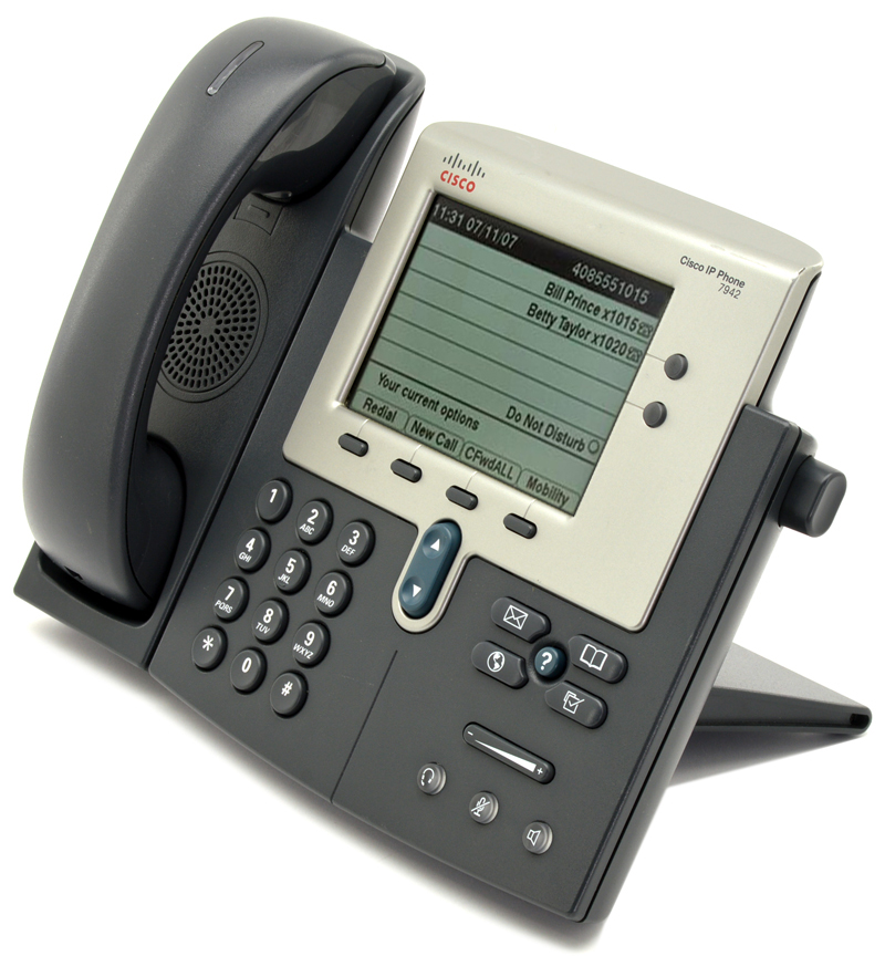 Cisco CP-7942G Charcoal IP Display Speakerphone - Grade A from  PCLiquidations