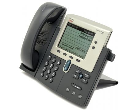 Cisco  CP-7942G Charcoal IP Display Speakerphone - Grade A