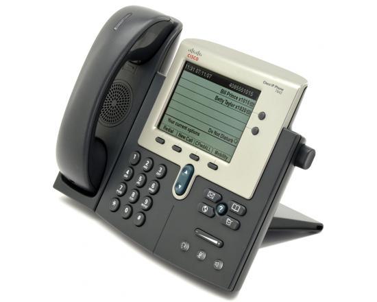 Cisco  CP-7942G Charcoal IP Display Speakerphone - Grade A