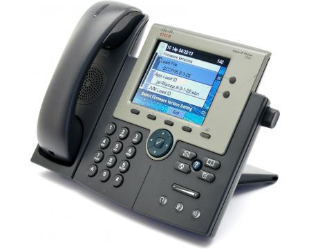 Cisco CP-7945G Charcoal IP Display Speakerphone - Grade B