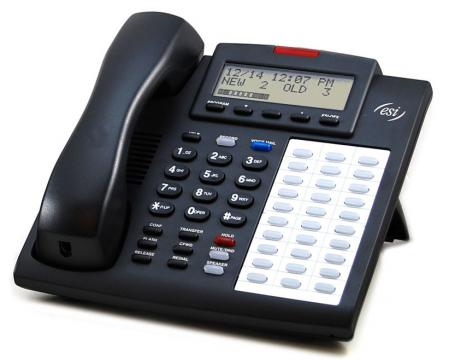 ESI Communications 48-Key DFP Charcoal Display Speakerphone