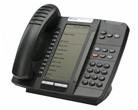 Mitel 5320e IP Dual Mode Backlit Large Display Gigabit Phone (50006634) - Grade A